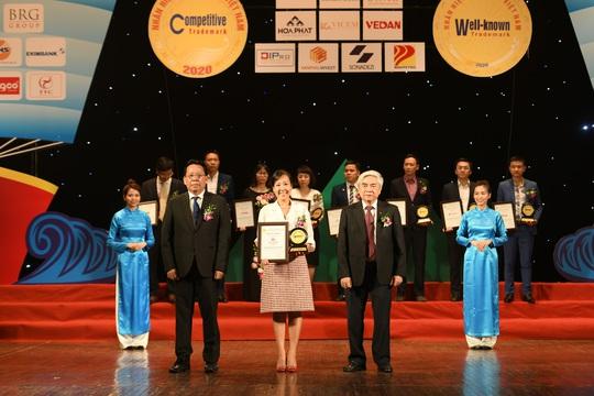 Techcombank - ngân hàng duy nhất đạt giải thưởng top 10 nhãn hiệu nổi tiếng Việt Nam 2020 - Ảnh 1.