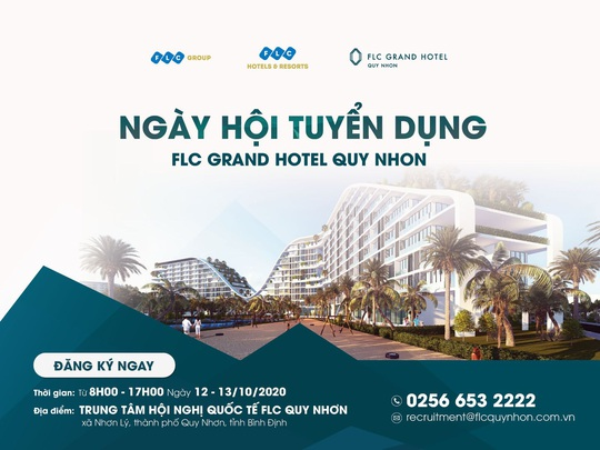 Chuẩn bị khánh thành khách sạn hàng đầu Việt Nam, FLC Quy Nhơn tuyển dụng quy mô lớn - Ảnh 1.