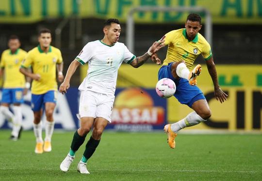 Vùi dập Bolivia 5-0, Brazil lên đỉnh bảng Nam Mỹ - Ảnh 1.