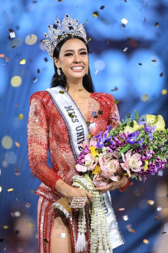 Cận cảnh cô gái lai đăng quang Hoa hậu Hoàn vũ Thái Lan - Ảnh 5.