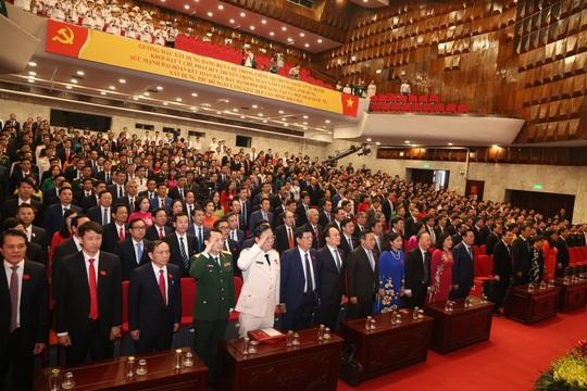 Tổng Bí thư, Chủ tịch nước Nguyễn Phú Trọng dự và chỉ đạo Đại hội Đảng bộ TP Hà Nội XVII - Ảnh 9.