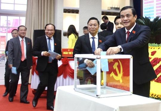 Ông Phan Việt Cường tái đắc cử Bí thư Tỉnh ủy Quảng Nam - Ảnh 1.