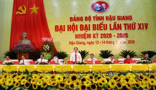 Tân Bí thư Tỉnh ủy Hậu Giang nêu 3 nhiệm vụ đột phá của tỉnh trong nhiệm kỳ mới - Ảnh 1.