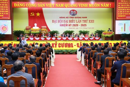 Bà Trương Thị Mai dự khai mạc Đại hội Đại biểu Đảng bộ tỉnh Quảng Nam - Ảnh 3.