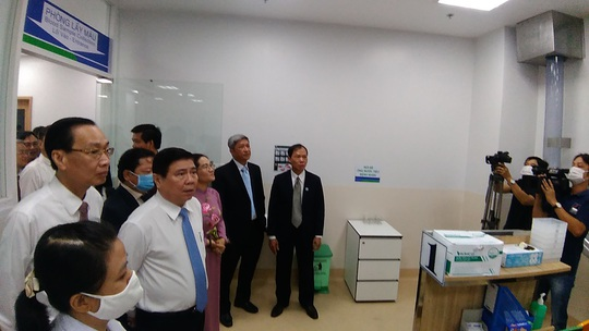 Bệnh viện ngàn tỉ tại TP HCM chính thức đi vào hoạt động - Ảnh 1.