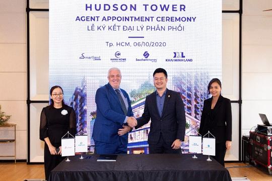 City Garden Thủ Thiêm ký kết hợp tác với 4 nhà phân phối lớn cho Hudson Tower - Ảnh 1.