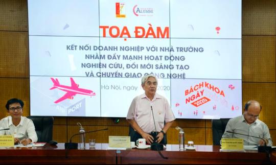 Trường ĐH Bách khoa Hà Nội đẩy mạnh kết nối với doanh nghiệp - Ảnh 1.
