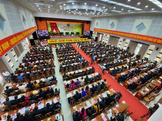 Bà Trương Thị Mai dự khai mạc Đại hội Đại biểu Đảng bộ tỉnh Quảng Nam - Ảnh 4.