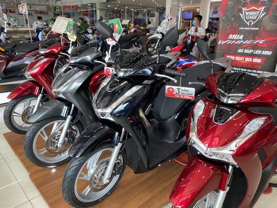 Honda Việt Nam doanh số sụt giảm mạnh - Ảnh 1.