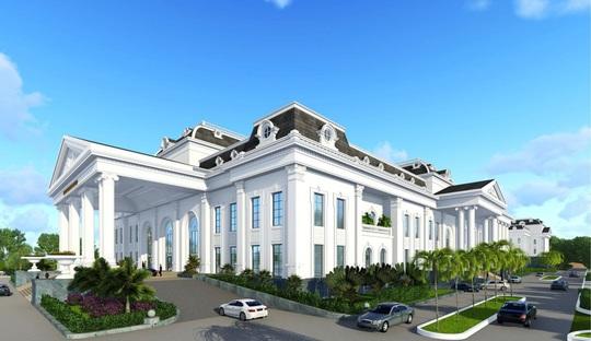 FLC động thổ Tổ hợp Trung tâm Hội nghị Quốc tế tại Vĩnh Phúc - Ảnh 2.