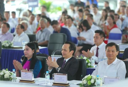 FLC động thổ Tổ hợp Trung tâm Hội nghị Quốc tế tại Vĩnh Phúc - Ảnh 5.