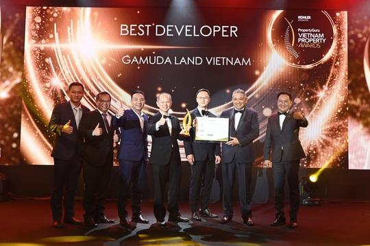 Gamuda Land Việt Nam nhận giải Chủ đầu tư xuất sắc - Ảnh 1.