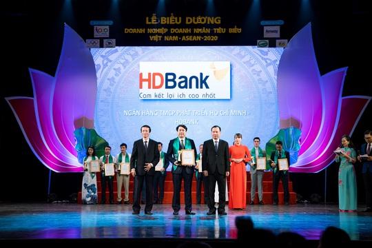 HDBank - Doanh nghiệp tiêu biểu Việt Nam - ASEAN 2020 - Ảnh 1.