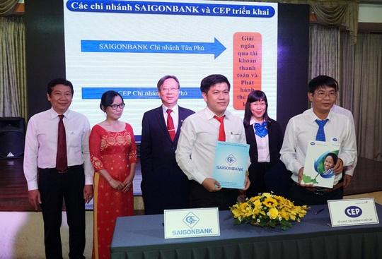 CEP và SAIGONBANK hợp tác phục vụ công nhân lao động - Ảnh 1.