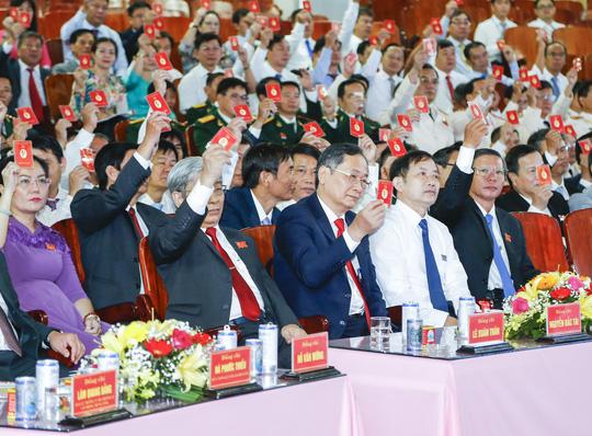 Ông Nguyễn Khắc Định tái đắc cử Bí thư Tỉnh ủy Khánh Hòa - Ảnh 2.