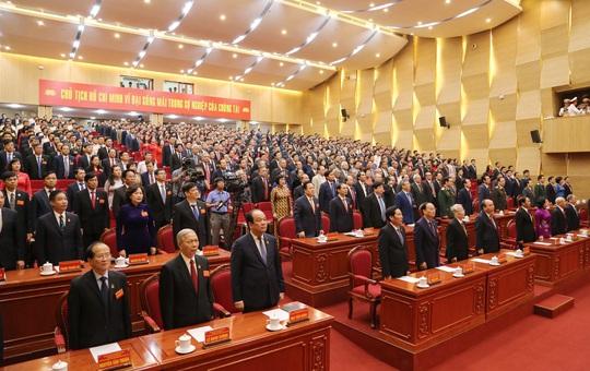 Thủ tướng Nguyễn Xuân Phúc dự, chỉ đạo Đại hội Đảng bộ TP Hải Phòng - Ảnh 2.
