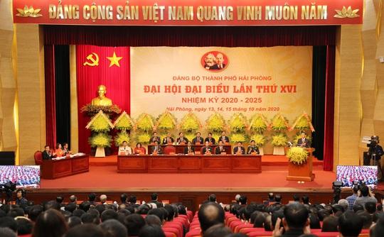 Thủ tướng Nguyễn Xuân Phúc dự, chỉ đạo Đại hội Đảng bộ TP Hải Phòng - Ảnh 3.