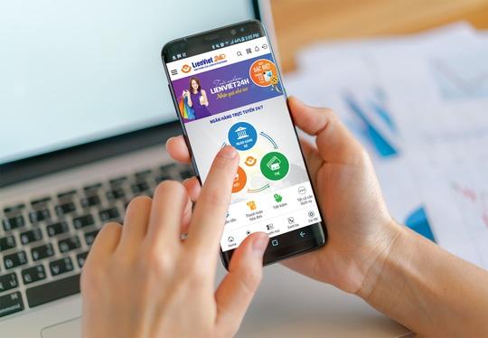 LienVietPostBank ra mắt ứng dụng ngân hàng số LienViet24h - Ảnh 1.