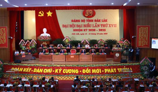Ông Bùi Văn Cường tái đắc cử Bí thư Tỉnh ủy Đắk Lắk - Ảnh 1.