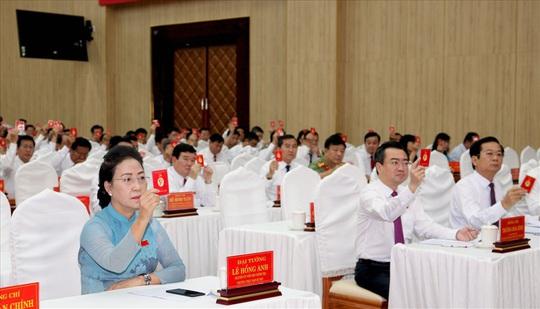 Đại hội Đại biểu Đảng bộ tỉnh Kiên Giang kết thúc phiên họp trù bị - Ảnh 2.