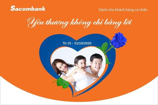 Sacombank dành nhiều ưu đãi cho phái đẹp - Ảnh 1.