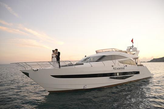 Bắt trend check in du thuyền sang chảnh giữa thiên đường biển Quy Nhơn, bạn đã thử? - Ảnh 1.