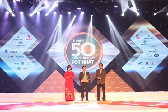 Techcombank vào danh sách 50 công ty niêm yết tốt nhất Việt Nam - Ảnh 1.