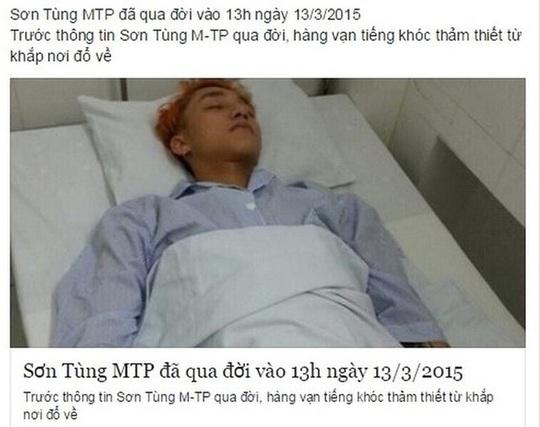 Lê Dương Bảo Lâm hú hồn khi hay tin mình qua đời - Ảnh 3.