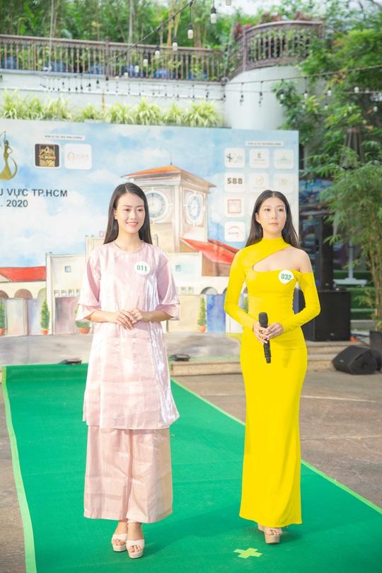 Sôi động vòng thi sơ tuyển phía Nam cuộc thi Miss Tourism Vietnam 2020 - Ảnh 4.