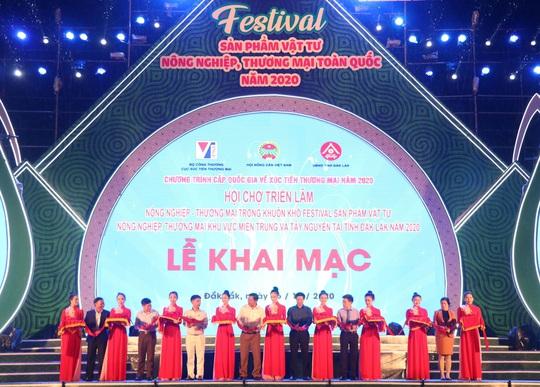 Khai mạc Festival Sản phẩm vật tư nông nghiệp và thương mại toàn quốc năm 2020 - Ảnh 1.