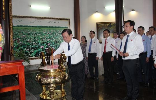 Khai mạc phiên trù bị Đại hội Đảng bộ tỉnh Đồng Tháp - Ảnh 2.