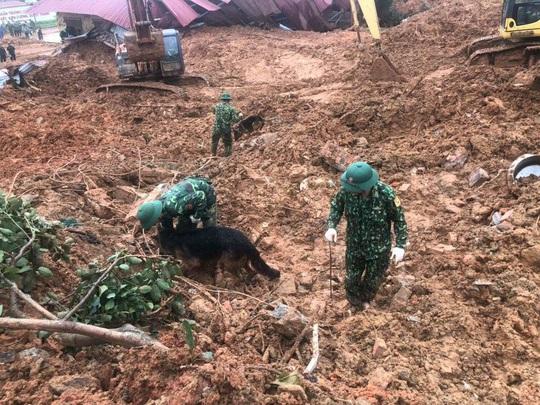 Tìm thấy 3 thi thể cuối cùng vụ 22 cán bộ, chiến sĩ bị sạt lở núi vùi lấp ở Quảng Trị - Ảnh 2.