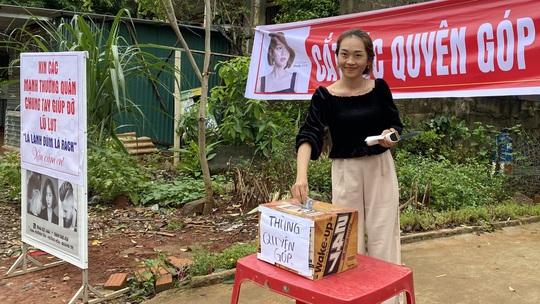 Cô gái 23 tuổi mở tiệm hớt tóc, dành toàn bộ tiền ủng hộ người dân vùng lũ - Ảnh 2.