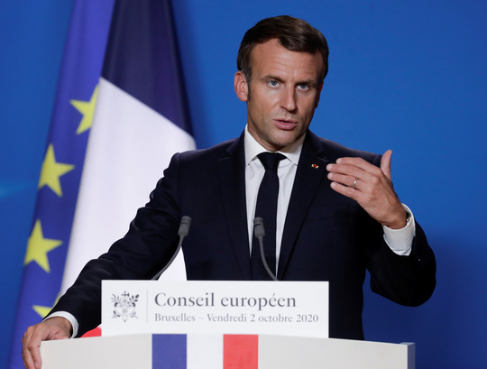 Tổng thống Pháp nóng mặt trước hành động của Thổ Nhĩ Kỳ - Ảnh 1.