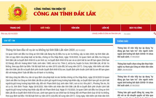 Công an tỉnh Đắk Lắk: Việc khởi tố tiến sĩ Phạm Đình Quý đúng quy định của pháp luật - Ảnh 1.