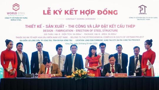 WorldSteel Group: Trúng thầu hạng mục kết cấu thép trị giá hơn 10 triệu USD tại Hóa Dầu Long Sơn. - Ảnh 1.