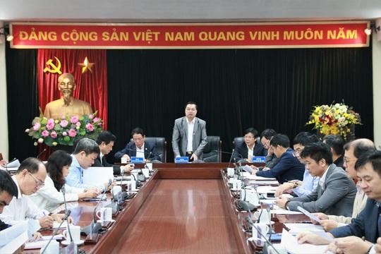 Hội nghị giao ban báo chí quyên góp ủng hộ đồng bào miền Trung bị mưa lũ - Ảnh 1.