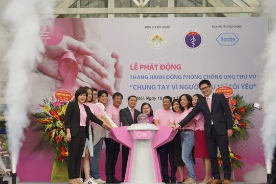 Chiến dịch truyền thông và khám sàng lọc phòng chống ung thư vú 2020 - Ảnh 1.