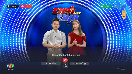 Truyền hình FPT ra mắt trò chơi tương tác Chơi Hay Chia trúng thưởng lớn - Ảnh 1.