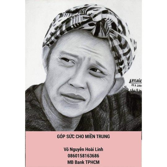 Nghệ sĩ Hoài Linh góp sức hỗ trợ người dân vùng lũ miền Trung - Ảnh 1.