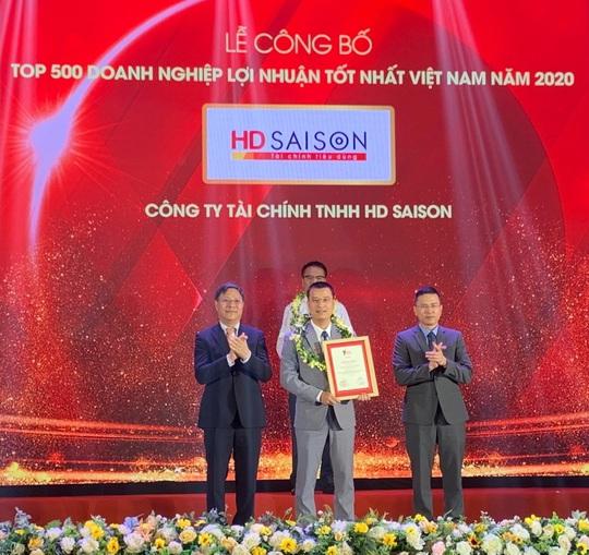 HD SAISON thuộc nhóm các doanh nghiệp có lợi nhuận tốt nhất Việt Nam - Ảnh 1.