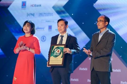 Vietcombank được Forbes bình chọn trong top 50 Công ty niêm yết tốt nhất Việt Nam - Ảnh 1.