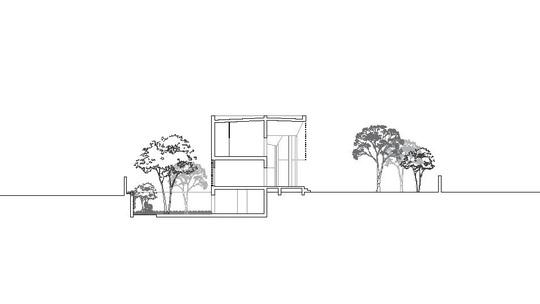 Ngôi nhà gạch với mái bê tông gấp nếp - Ảnh 12.