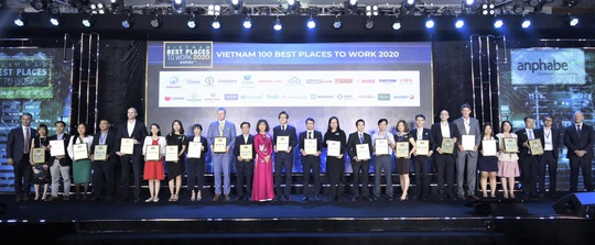 Nam Long có tên trong top 100 nơi làm việc tốt nhất Việt Nam 2020 - Ảnh 1.