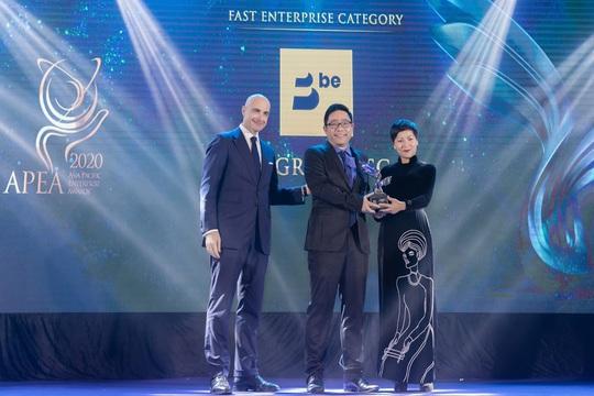 Be Group đạt giải thưởng Kinh doanh xuất sắc châu Á - Ảnh 1.