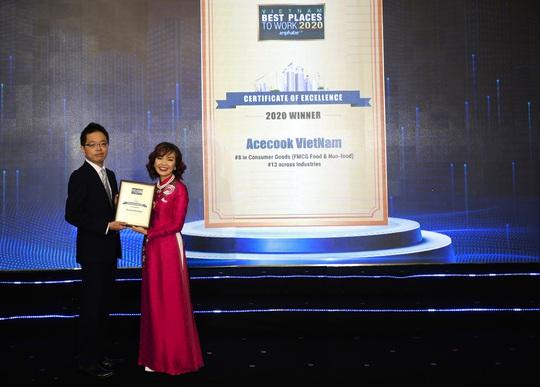 Acecook Việt Nam thuộc top 10 doanh nghiệp tiêu biểu có nguồn nhân lực hạnh phúc 2020 - Ảnh 1.