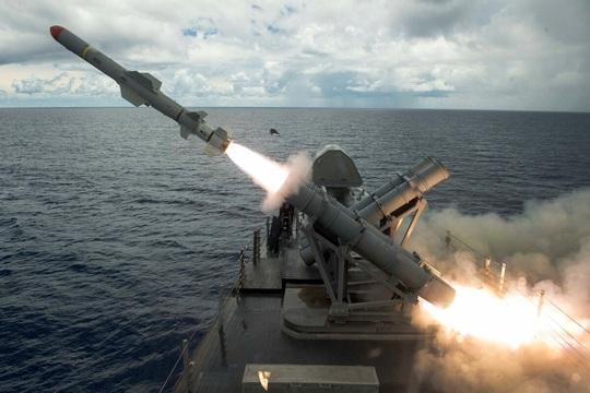 Mỹ bán 100 hệ thống phòng thủ Harpoon trị giá 2,37 tỉ USD cho Đài Loan - Ảnh 1.