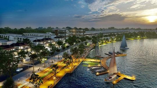 Khơi thông dòng sông Cổ Cò, khu đô thị mới Ngọc Dương Riverside tạo sóng bất động sản - Ảnh 1.