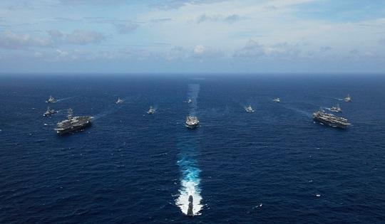 Mỹ - Ấn cùng thách thức Trung Quốc trên biển Đông - Ảnh 2.
