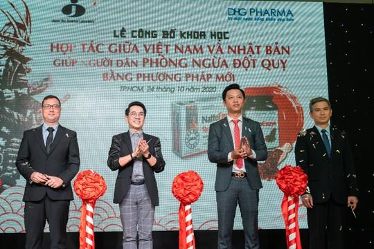 DHG Pharma ra mắt sản phẩm mới đột phá hơn trong phòng ngừa đột quỵ chất lượng Nhật Bản - Ảnh 1.